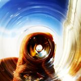 Steg färgexponeringsglas Arkivfoton