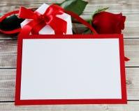 Steg och kortet Royaltyfria Bilder