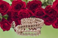 Steg och pärlor Royaltyfri Bild