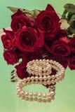 Steg och pärlor Royaltyfri Foto