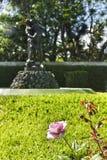 Steg på trädgården Royaltyfri Fotografi