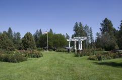 Steg trädgårds- Spokane royaltyfri fotografi