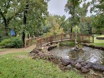 Steg trädgårds- Tyler Texas USA fotografering för bildbyråer