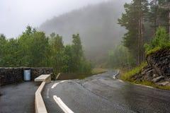 Stegastein观点在挪威 库存图片