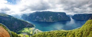Stegastein Norway stock images