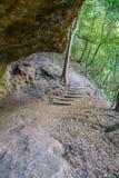 Stege i det jätte- trappaspåret, blåa berg, Australien 5 royaltyfria bilder