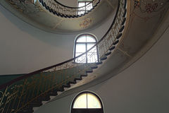 Stege i nationell konstmuseumnouveau i Riga fotografering för bildbyråer
