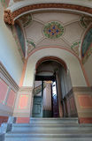 Stege i nationell konstmuseumnouveau i Riga royaltyfri bild