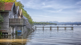 Stegen at Ammersee Royalty Free Stock Photography