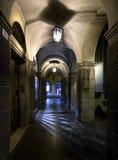 Stegen en arcades van Verona Italië stock fotografie