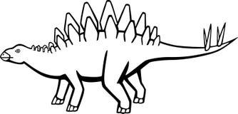 Stegosaur Fotografia Stock