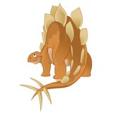 Stegosaur Stock Image