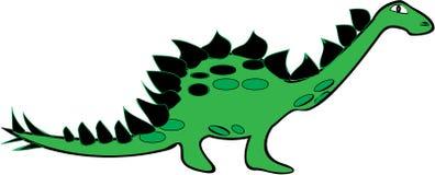 Stegosauro Fotografia Stock Libera da Diritti