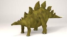 Stegosauro-dinosauro royalty illustrazione gratis