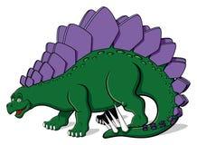 Stegosauro per i bambini Immagini Stock