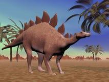 Stegosaurus calmo royalty illustrazione gratis