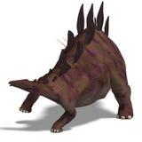 Stegosaurus del dinosauro illustrazione vettoriale