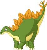 Stegosaurus del fumetto illustrazione vettoriale
