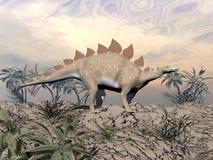 Stegosaurus di Vigilent illustrazione vettoriale