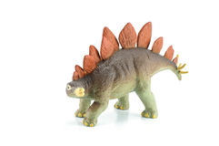 Stegosaurus dinosarus toy Stock Photography