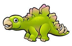 Stegosaurus Dinosaur Cartoon Character Royalty Free Stock Photography