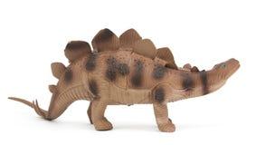 Stegosaurus dinosaur isolated Royalty Free Stock Photos