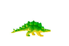 Stegosaurus dinosaur plastic toy Stock Photography