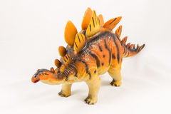 Stegosaurus dinosaur toy model Stock Images