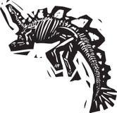 Stegosaurus-Fossil Lizenzfreie Stockfotografie