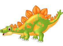 Stegosaurus grande do dinossauro dos desenhos animados Imagem de Stock Royalty Free