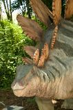 Stegosaurus. Sculpture in live size Royalty Free Stock Photography