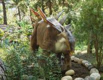 Stegosaurus - sen Jurassic period /156-145 miljon år sedan I Arkivfoto