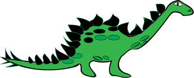Stegosaurus Royalty Free Stock Photography