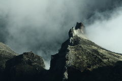 Stegozaur góra Obraz Royalty Free