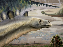 Stegozaura dinosaur Zdjęcia Stock
