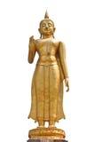 Stehende Buddha-Statue lizenzfreie stockfotografie