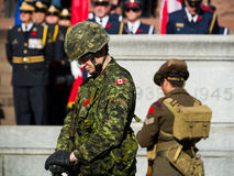 Stehende Soldaten Stockbilder