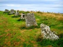 Stehende Steine Achavanich (Schottland) Lizenzfreies Stockfoto