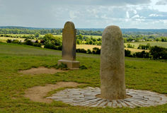 Stehender Steinhügel von Tara Lizenzfreies Stockbild