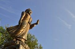 Stehendes Buddha-Bild stockbilder