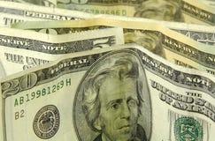 Stehendes Geld lizenzfreie stockbilder