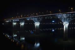 Stehlen Sie Brücke Lizenzfreies Stockfoto