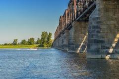 Stehlen Sie Brücke Lizenzfreies Stockbild