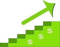 Steigen zum Erfolg Lizenzfreie Stockfotos