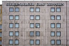 Steigenberger Graf Zeppelin lyxigt hotell royaltyfri fotografi