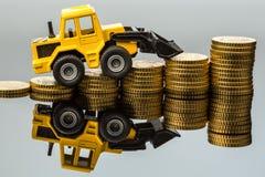 Steigende Kosten im Bausektor lizenzfreie stockfotografie