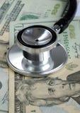 Steigende medizinische Kosten in den US. Lizenzfreies Stockfoto