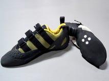 Steigende Schuhe Stockfoto