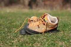 Steigende Schuhe Lizenzfreies Stockbild