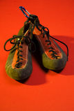 Steigende Schuhe Lizenzfreie Stockfotos